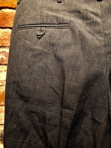 """1940s \"""" U.S ARMY \"""" 100% cotton VINTAGE OFFICER - マチ付き - CHINOS SHIRTS ._d0172088_19514319.jpg"""
