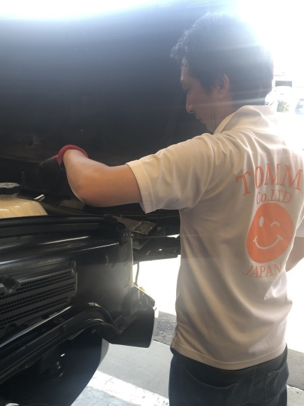 8月31日[土]本店ブログ☆ハマー K様納車!!決算セールやってます✊ランクル ハマー ベンツ♡TOMMY♡_b0127002_18402020.jpg