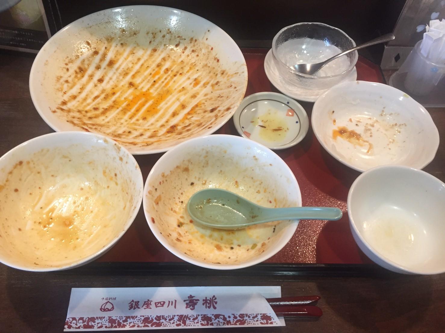 中国料理 銀座四川 壽桃  ランチ ファイナル_e0115904_06285463.jpg