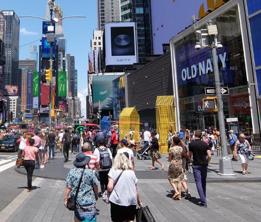 タイムズ・スクエアの体験型アートな新しい写真スポット_b0007805_23570386.jpg