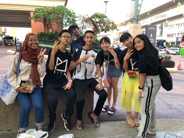 マレーシア中学生海外派遣4日目5日目_d0130714_09212364.jpg