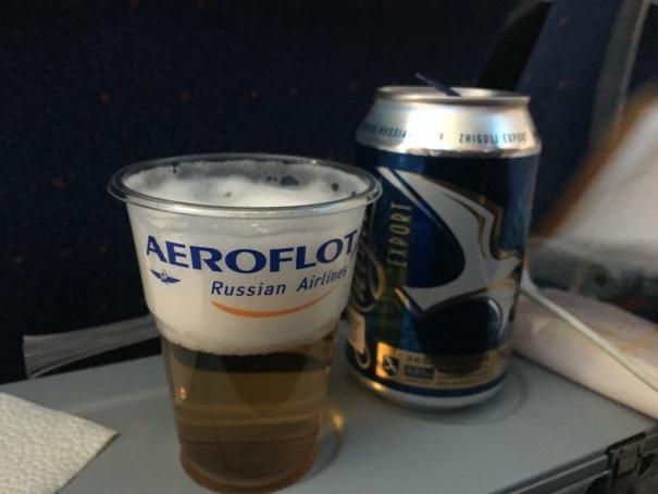 2019夏のイタリア旅行記21 今回の最後の1食 とアエロフロート搭乗記_d0041729_12403522.jpg