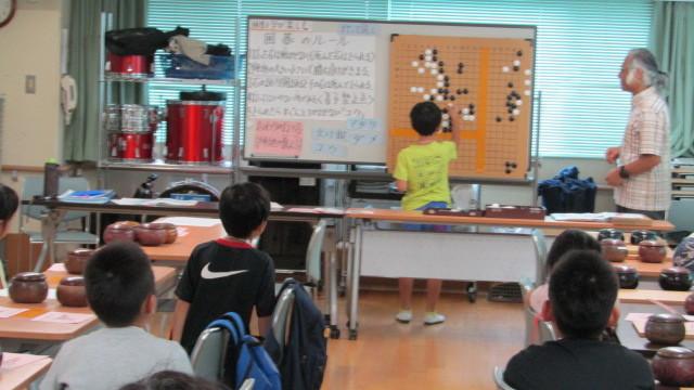 8月15日(木曜日)レッツ碁_e0362532_12304797.jpg