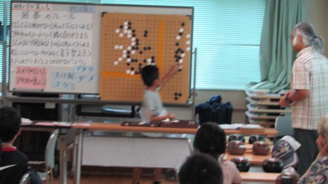 8月15日(木曜日)レッツ碁_e0362532_12305727.jpg