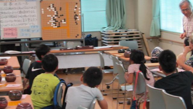 8月15日(木曜日)レッツ碁_e0362532_12311805.jpg