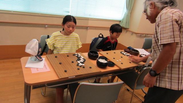 8月15日(木曜日)レッツ碁_e0362532_12315382.jpg