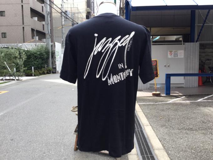 「 DEADSTOCKジャズTEE & ストライプパジャマシャツ」_c0078333_16391581.jpg