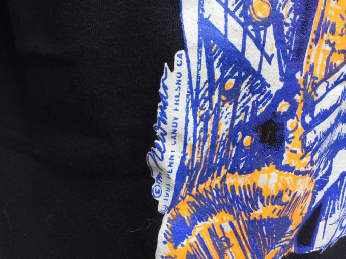 「 DEADSTOCKジャズTEE & ストライプパジャマシャツ」_c0078333_16405185.jpg