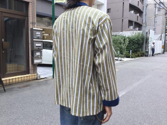 「 DEADSTOCKジャズTEE & ストライプパジャマシャツ」_c0078333_17595399.jpg