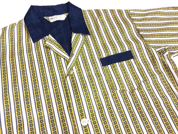 「 DEADSTOCKジャズTEE & ストライプパジャマシャツ」_c0078333_18520768.jpg