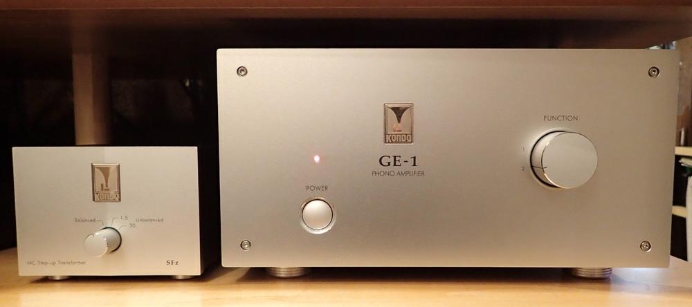 オーディオ・ノート GE-1 フォノ・アンプリファイヤー 試聴機入荷_b0262449_19280721.jpg