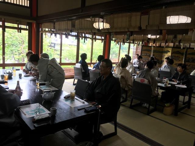 夏の着物でランチ会・京都のパワースポット神泉苑・平八_f0181251_19165264.jpg
