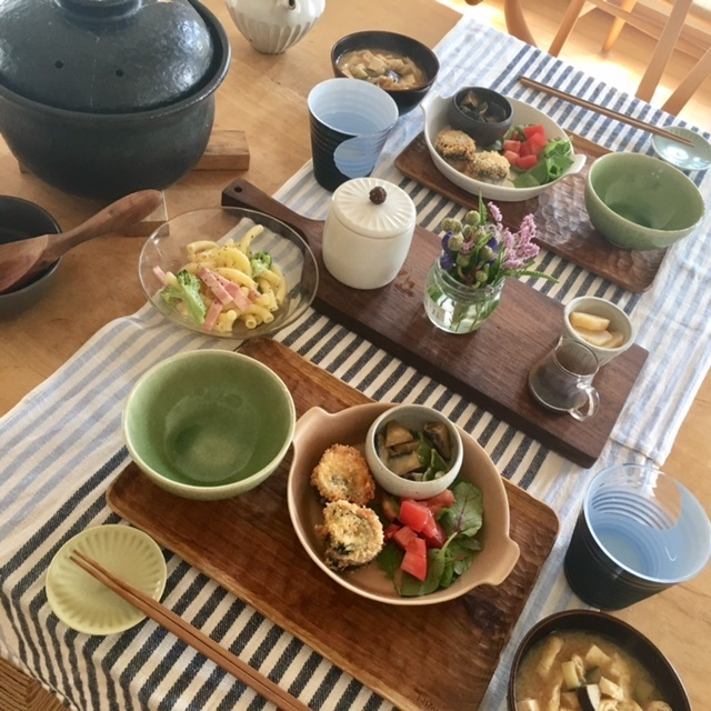 Breakfast  次男夫婦の食卓_a0165160_06335859.jpg