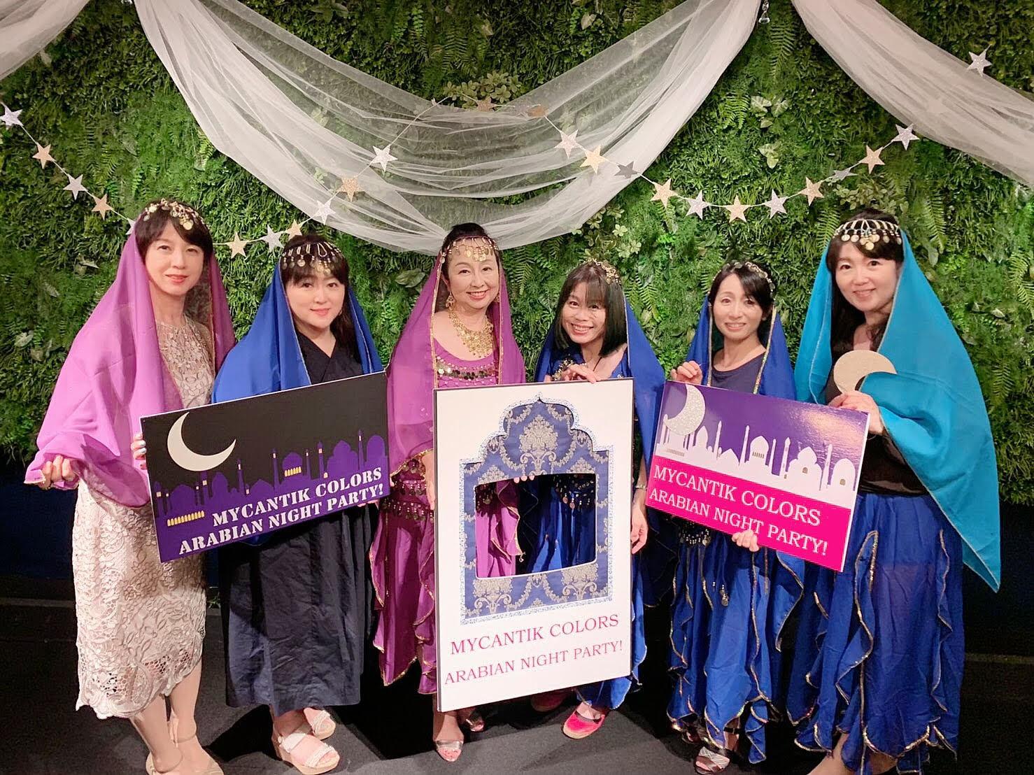 アラビアンナイトパーティのメーキング&最後の報告☆_b0114367_09153769.jpg