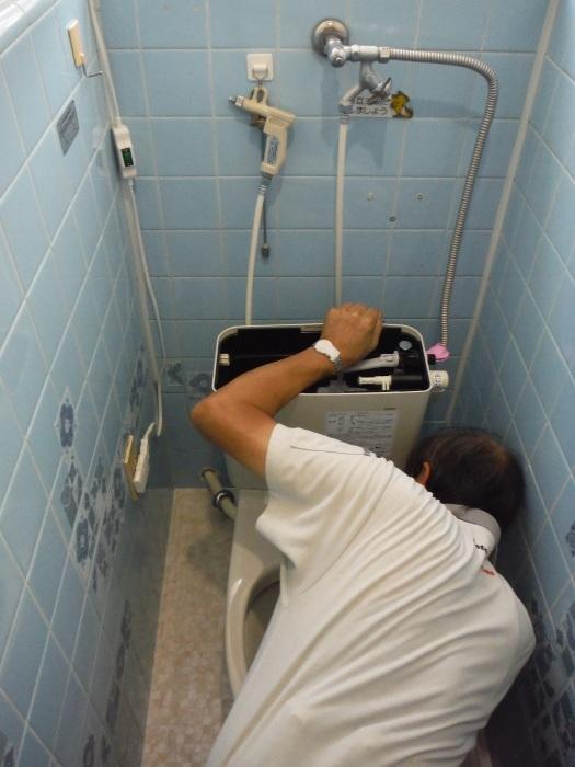 トイレ リフォーム ~ 半日で工事終了です。_d0165368_04043892.jpg