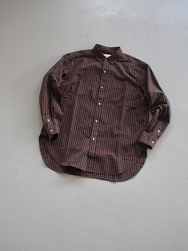 blurhms Polish Chambray Shirt / GMCH-Brown_b0139281_1532575.jpg