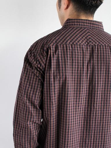 blurhms Polish Chambray Shirt / GMCH-Brown_b0139281_15344492.jpg