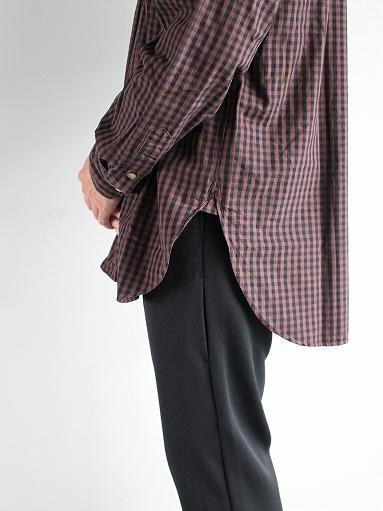 blurhms Polish Chambray Shirt / GMCH-Brown_b0139281_15345223.jpg