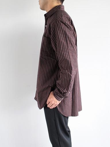 blurhms Polish Chambray Shirt / GMCH-Brown_b0139281_15351898.jpg