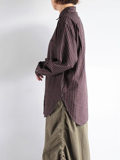 blurhms Polish Chambray Shirt / GMCH-Brown_b0139281_15352461.jpg