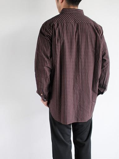 blurhms Polish Chambray Shirt / GMCH-Brown_b0139281_15352960.jpg