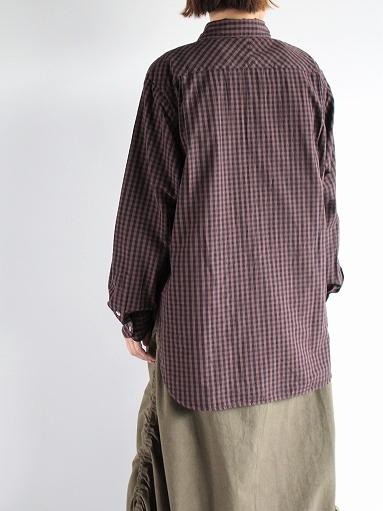 blurhms Polish Chambray Shirt / GMCH-Brown_b0139281_15353434.jpg