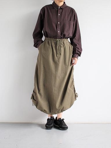 blurhms Polish Chambray Shirt / GMCH-Brown_b0139281_15371427.jpg