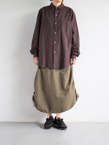 blurhms Polish Chambray Shirt / GMCH-Brown_b0139281_1537593.jpg