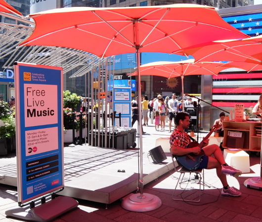 夏のニューヨーク、タイムズ・スクエアの風景_b0007805_20042342.jpg