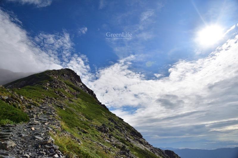 北岳 〜北岳山頂へ?〜_f0321522_09422056.jpg