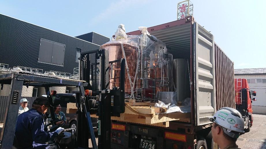 クラフトビール設備搬..._d0174738_10004507.jpg