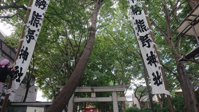 熊野神社のお祭りです_d0155439_08040266.jpg