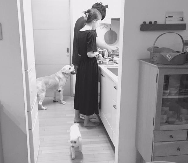 thank you  次男夫婦の手料理♪_a0165160_16091581.jpg