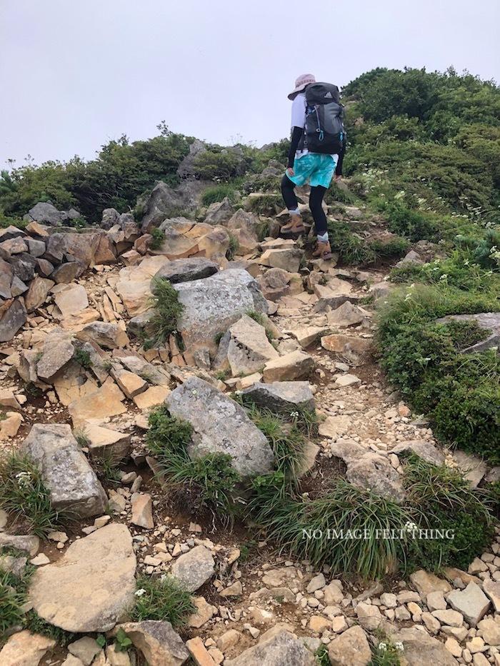 登山2019⑦*〜三本槍岳下山・朝日岳登頂〜♪_d0367763_14322447.jpg