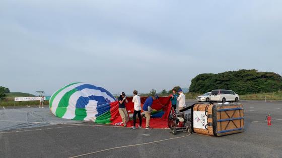 気球に乗って秋吉台の絶景を見よう!_c0150273_22592154.jpg
