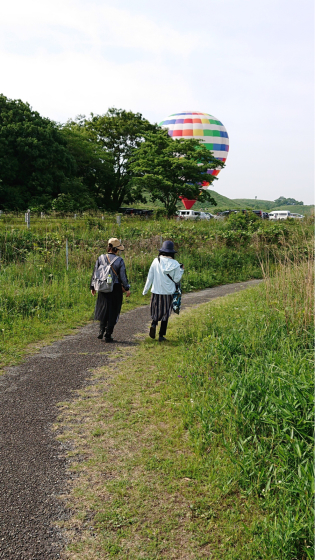 気球に乗って秋吉台の絶景を見よう!_c0150273_23181835.jpg