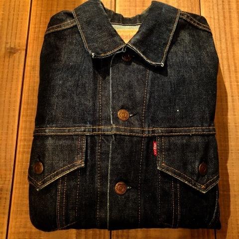 """1967-68 \"""" LEVI\'S \"""" BIG-E - 70505 MODEL - Vintage DENIM TRUCKER JKT - リジットコンディション - ._d0172088_15401073.jpg"""