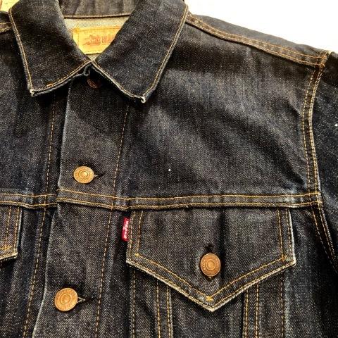 """1967-68 \"""" LEVI\'S \"""" BIG-E - 70505 MODEL - Vintage DENIM TRUCKER JKT - リジットコンディション - ._d0172088_15553806.jpg"""