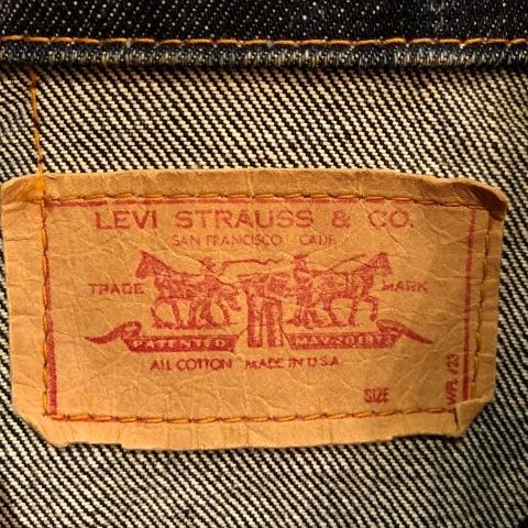 """1967-68 \"""" LEVI\'S \"""" BIG-E - 70505 MODEL - Vintage DENIM TRUCKER JKT - リジットコンディション - ._d0172088_18202602.jpg"""