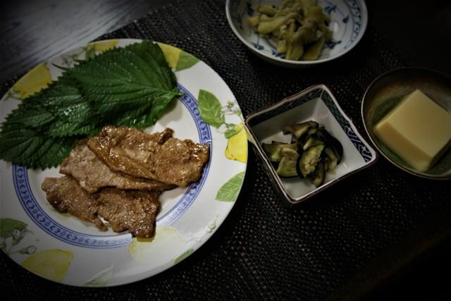 家庭菜園の野菜を使った 夏の「今夜の夕飯」_f0229190_14161980.jpg