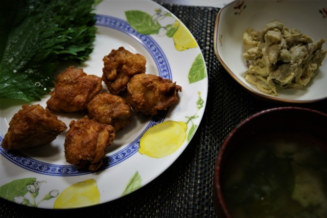 家庭菜園の野菜を使った 夏の「今夜の夕飯」_f0229190_14182567.jpg
