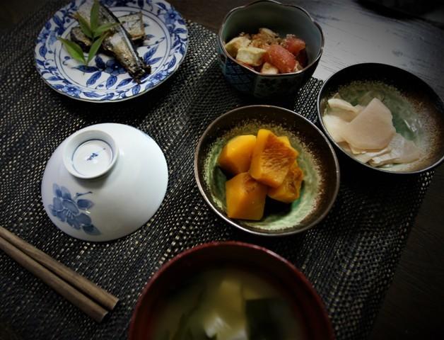 家庭菜園の野菜を使った 夏の「今夜の夕飯」_f0229190_14391062.jpg