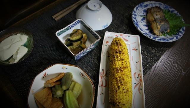 家庭菜園の野菜を使った 夏の「今夜の夕飯」_f0229190_14410798.jpg