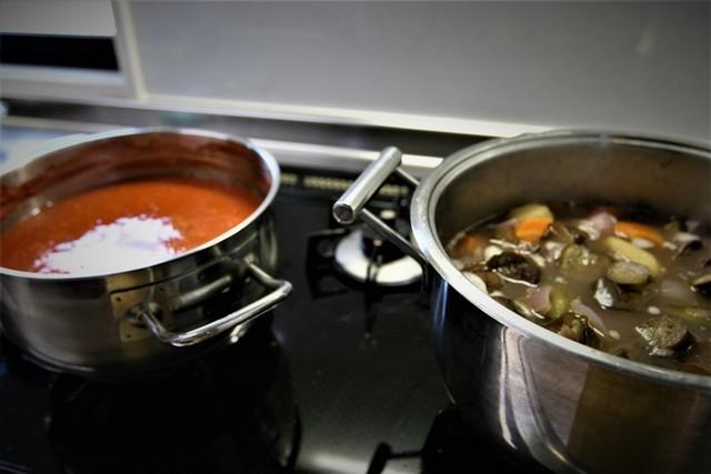 家庭菜園の野菜を使った 夏の「今夜の夕飯」_f0229190_14415133.jpg