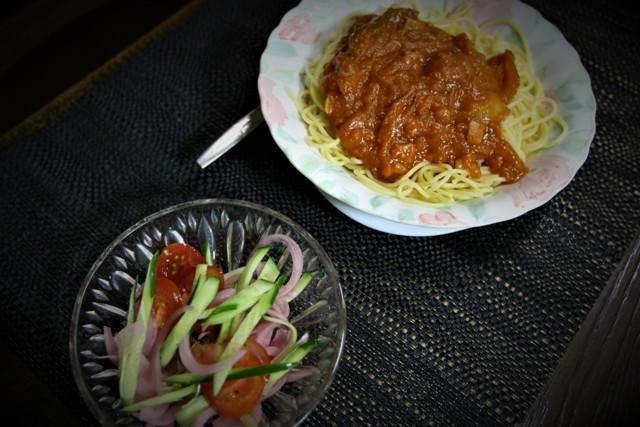 家庭菜園の野菜を使った 夏の「今夜の夕飯」_f0229190_15141857.jpg