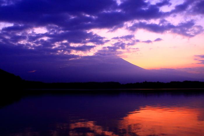 令和元年8月の富士(28)田貫湖夜明けの富士_e0344396_20565607.jpg