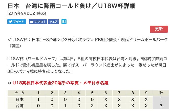 U18野球日本代表台湾にまさかの「雨天コールド負け」:どうみても米国を助けるための「陰謀」の感あり!?雨に弱い日本野球!?_a0348309_21074548.png