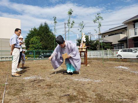 「土浦の家」地鎮祭を執り行いました。_a0059217_18251522.jpg