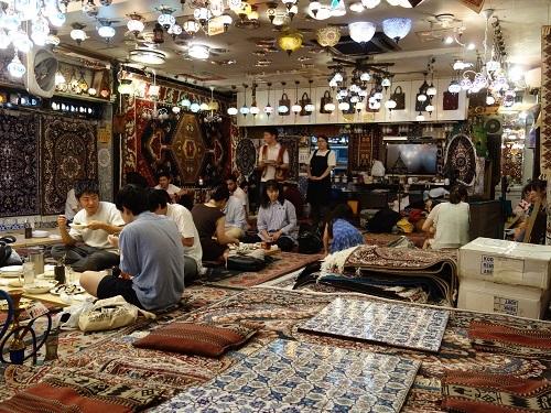 谷中銀座のザクロでウズベキスタン料理お腹いっぱいコース_c0030645_19162983.jpg
