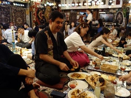 谷中銀座のザクロでウズベキスタン料理お腹いっぱいコース_c0030645_19170037.jpg